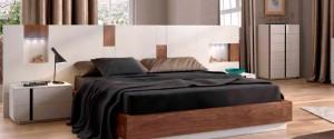 Dormitorio moderno negro en Zaragoza