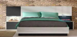 Dormitorio Zaragoza moderno azul
