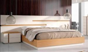 Cabecero grande dormitorio moderno en Zaragoza
