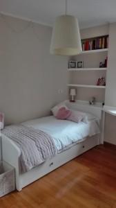 Habitación estanterías juveniles en Zaragoza