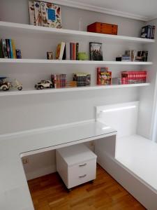 Mesa de escritorio dormitorio juvenil Zaragoza