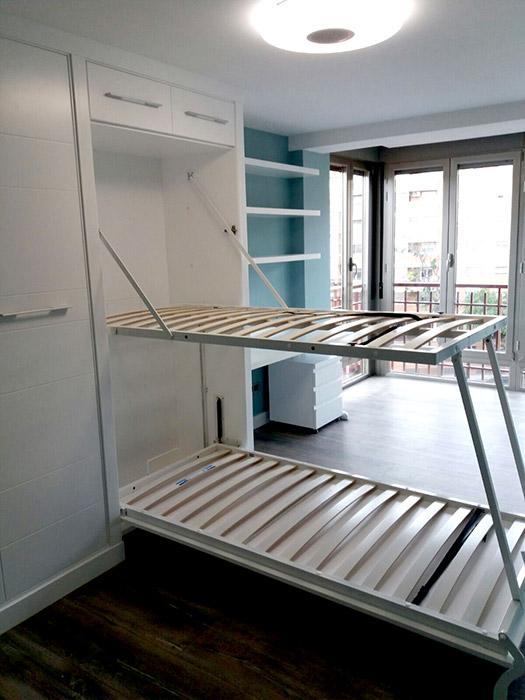 camas abatibles en Zaragoza de Mundo Madera
