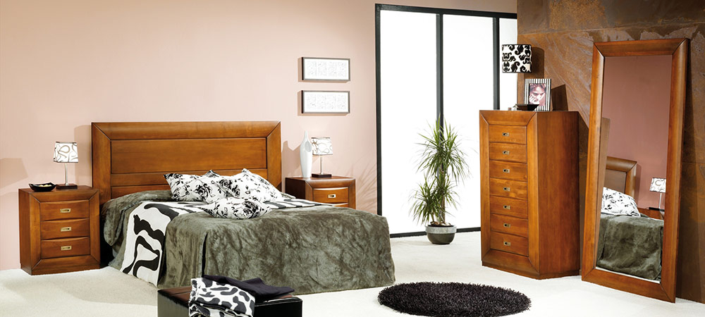 Dormitorios y habitaciones dormitorios matrimonio - Dormitorios de madera ...