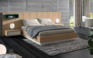 Dormitorio moderno en Zaragoza