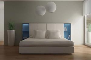Dormitorio moderno de Zaragoza