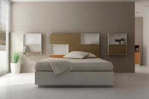 Cabecero moderno dormitorio en Zaragoza
