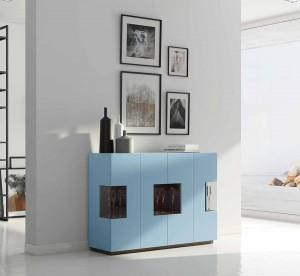 Decoración muebles modernos salón Zaragoza