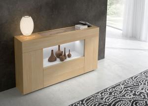 Mueble auxiliar madera claro