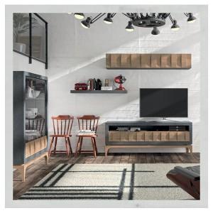Muebles de salón contemporaneos. Mundo Madera. Zaragoza
