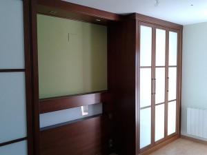 armario empotrado zaragoza marrón