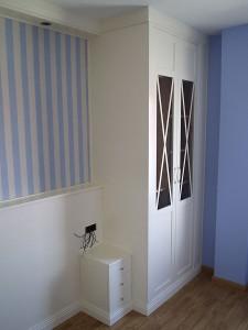 armario empotrado zaragoza blanco dormitorio