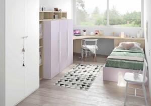 muebles juveniles en zaragoza para niñas melamina
