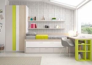 muebles juveniles en zaragoza grises melamina