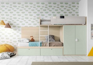 muebles juveniles en zaragoza literas melamina