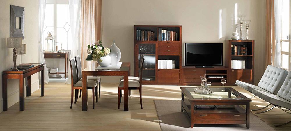 Muebles de madera para comedor - Salones comedores decoracion ...