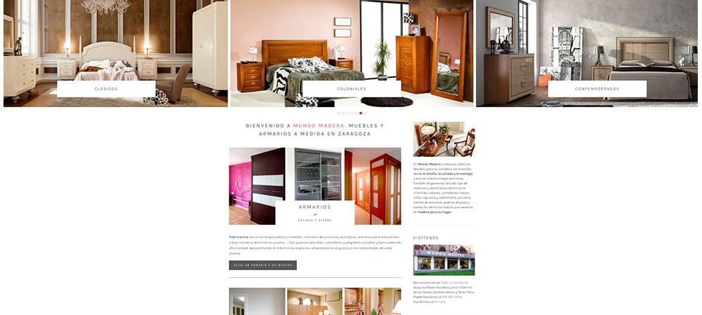 Muebles a medida en zaragoza idee per interni e mobili for Mundo muebles
