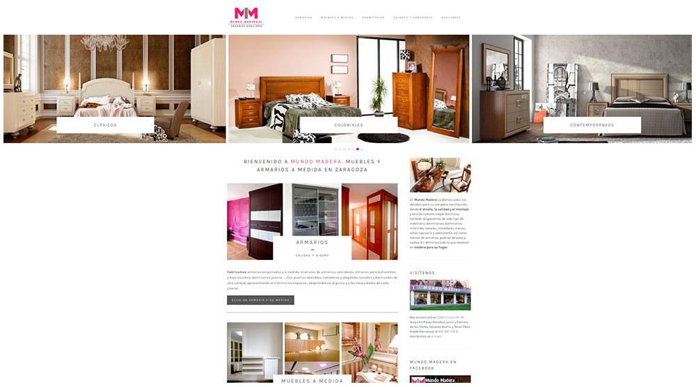 Mundo Madera - muebles Zaragoza