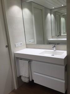 Mueble a medida para lavabo