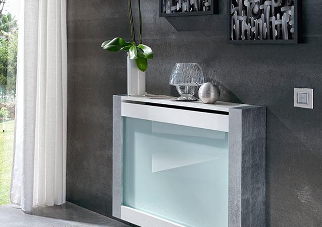 Muebles auxiliares para salvar la decoración de tu casa