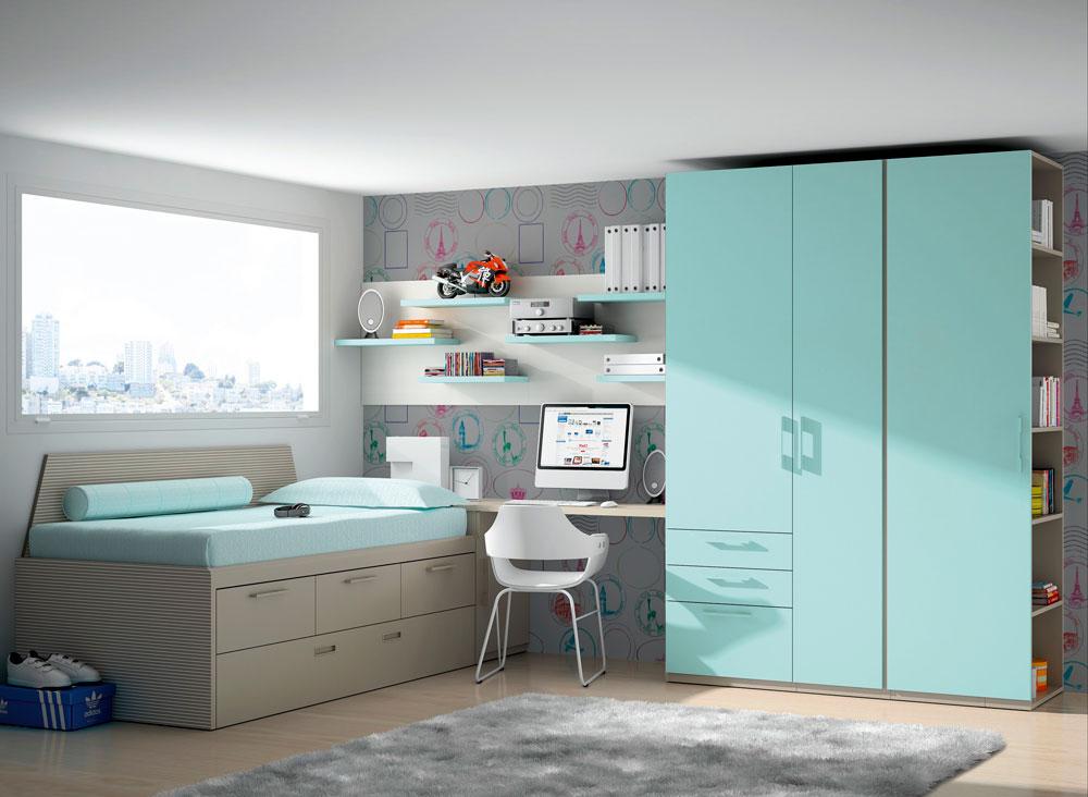 Dormitorios a medida para la casa de tus sue os mundo for Dormitorios juveniles a medida