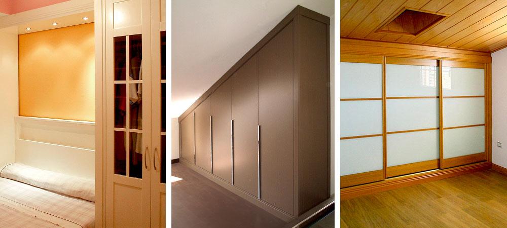 Armarios a medida para tu habitaci n abuhardillada for Armario escalera
