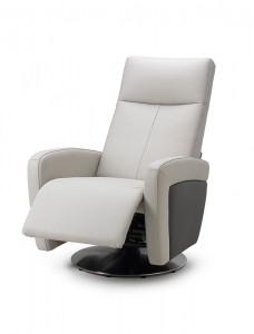 Sillón cabecero blanco reclinable