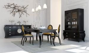 Mesa para salón clásico