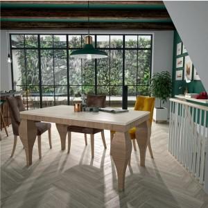 Mesa de madera desplegable de Mundo Madera en Zaragoza