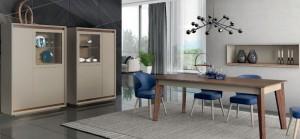 Mesa de salón de madera