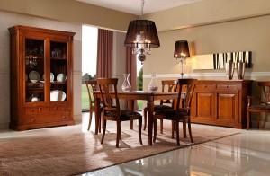 Mesa salón clásico