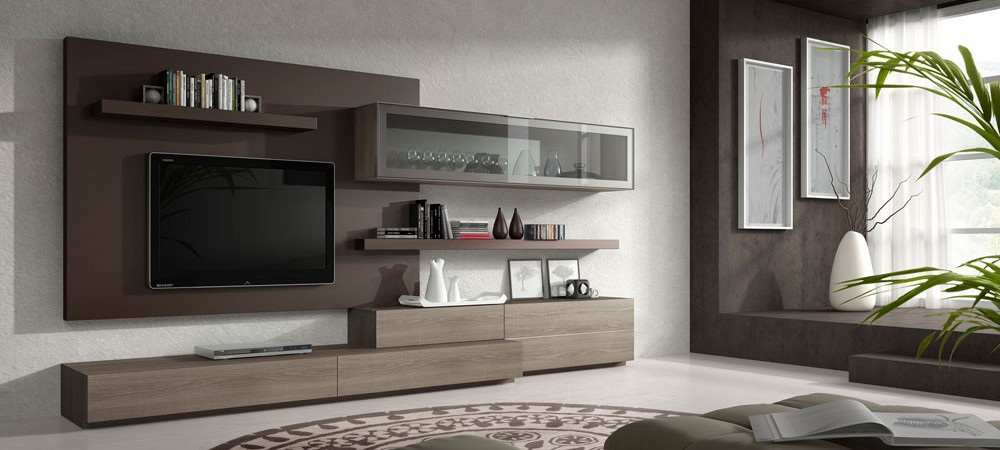 Salones modernos y líneas sencillas
