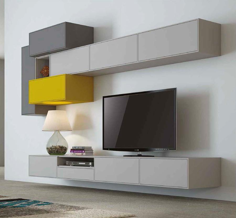 salones modernos-mundo madera-colores