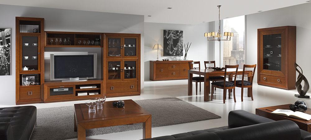 Tienda de muebles en zaragoza mundo madera - Muebles de salon modulares de madera ...