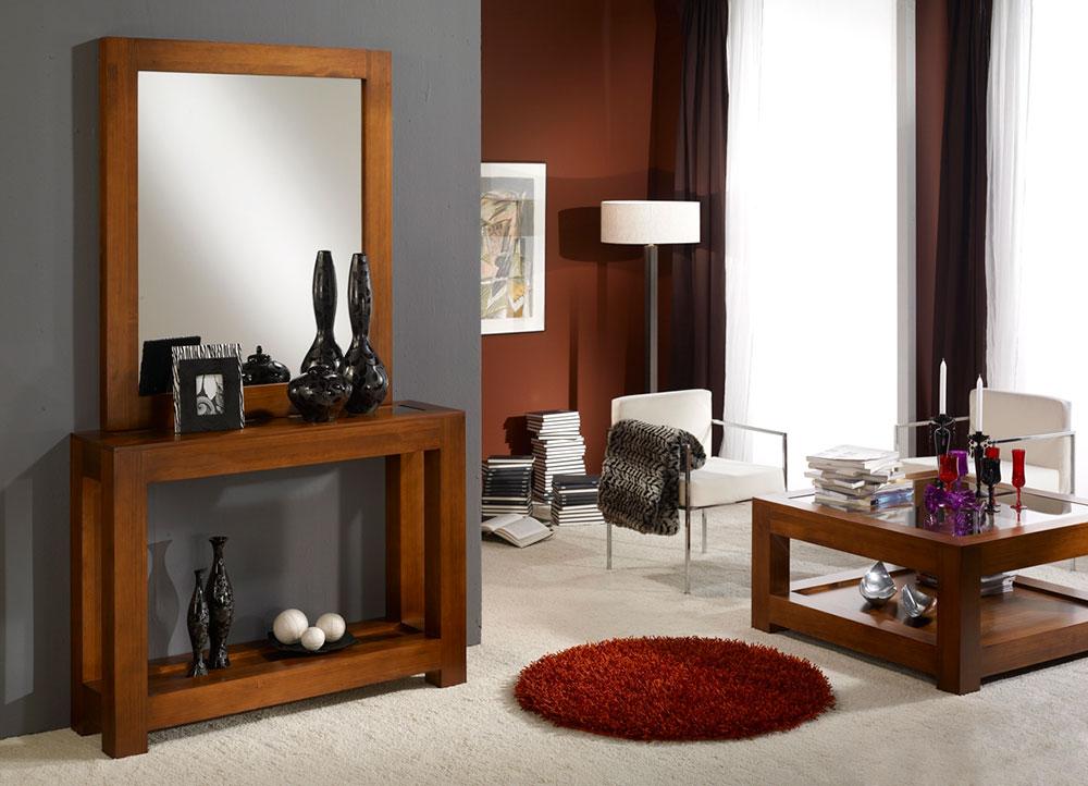 Muebles recibidor en zaragoza mundo madera - Mueble de recibidor ...