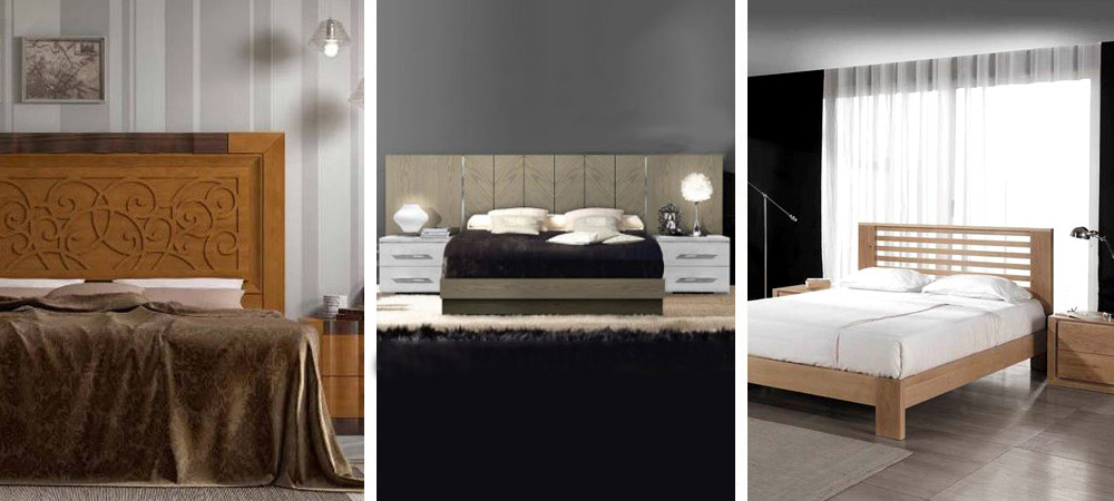 Dormitorios de matrimonio en Zaragoza - Mundo Madera