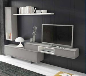Muebles de salón modernos minimalistas