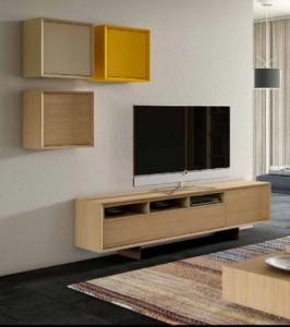 Mueble para TV con cajones.