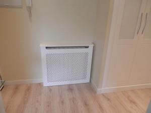Cubreradiador instalado en vivienda de cliente en Zaragoza
