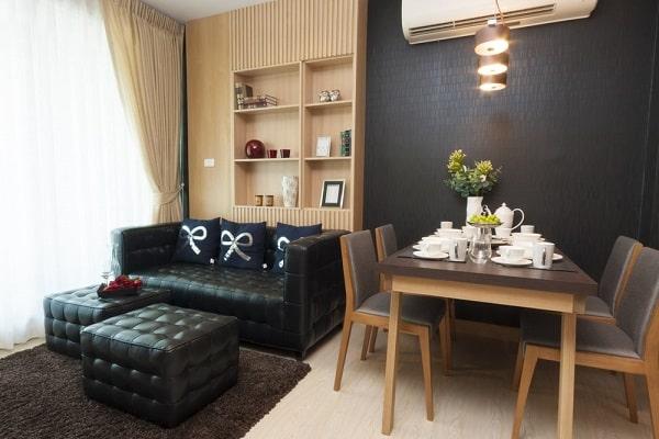 Muebles a medida para salones pequeños en Zaragoza.